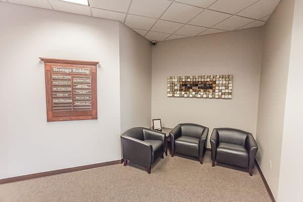 Heritage Reception Area
