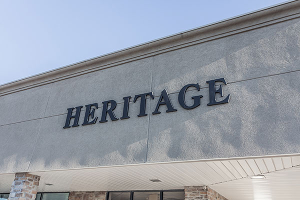 Heritage Building Sign