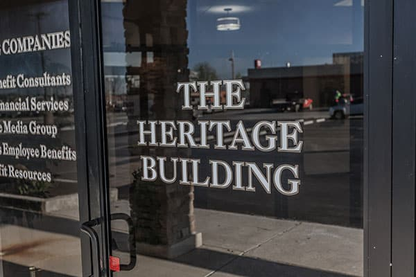 Heritage Window Lettering