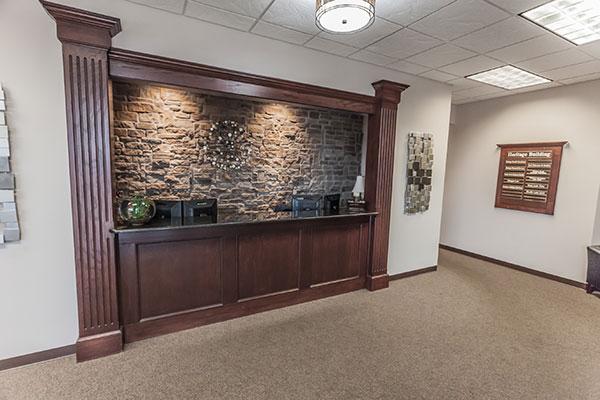 Heritage Reception Desk